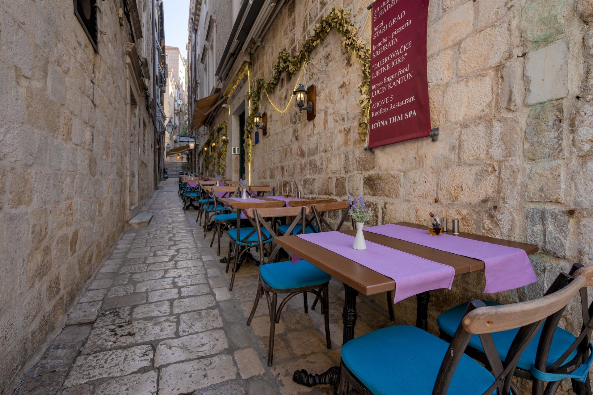 street of portun restaurant
