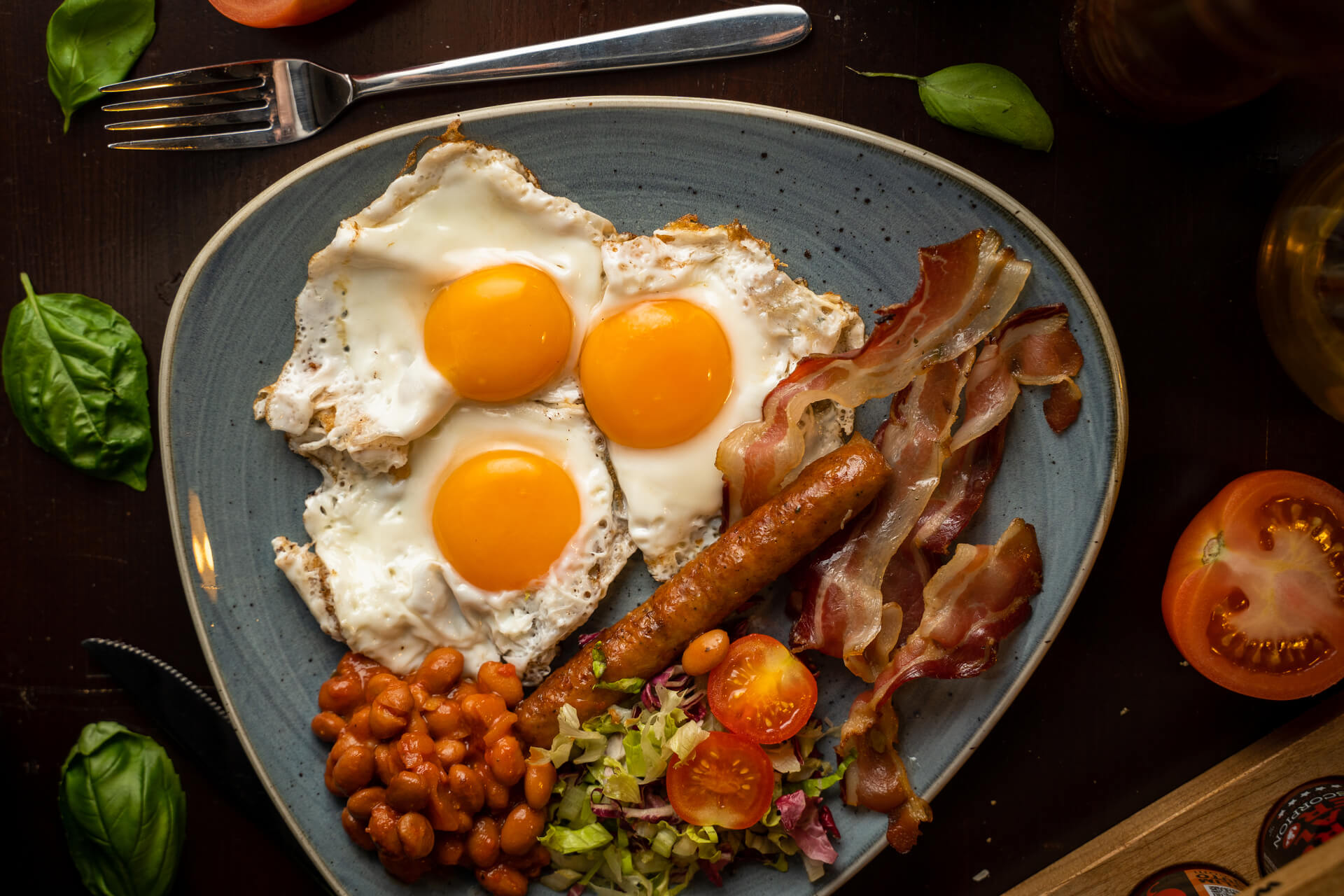 eggs and ham portun