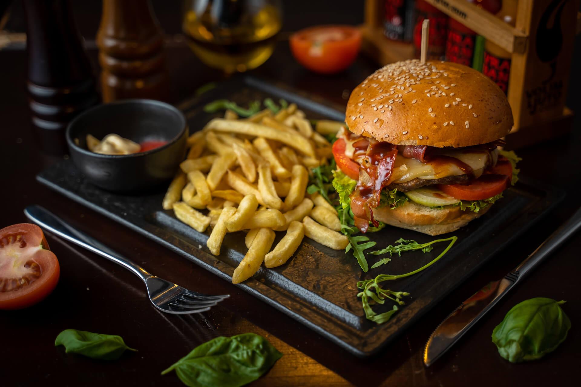 meat burger