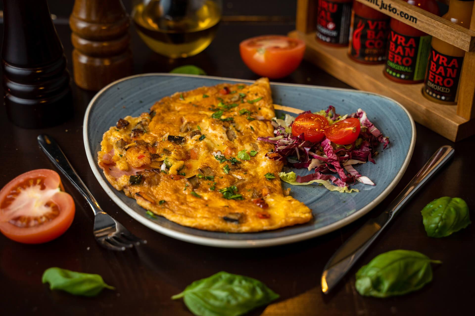 omlette breakfast portun dubrovnik